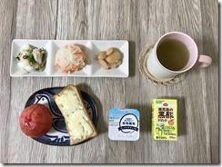 2019年10月6日の朝食
