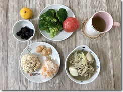 2019年10月26日の昼食