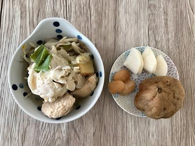 2019年10月28日の昼食