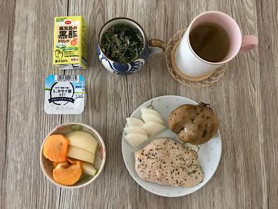 2019年10月29日の朝食