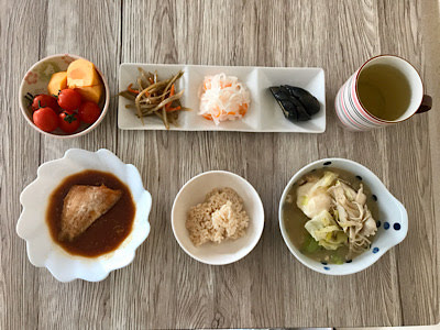 2019年10月31日の昼食
