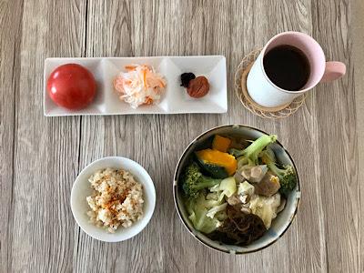 2019年11月1日の昼食