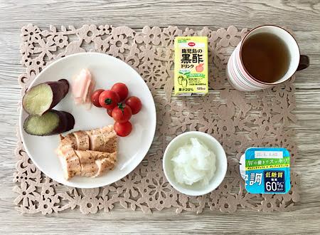 2020年6月9日の朝食