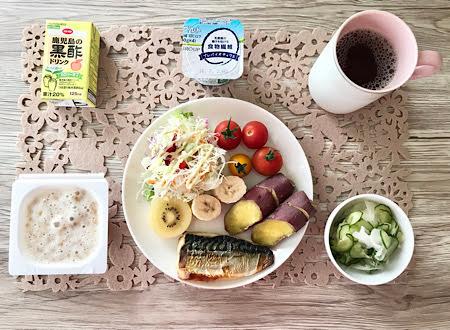 食事例の朝食